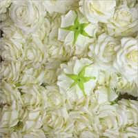 Artificial White Rose