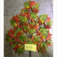 Green Red Maple Artificial Tree Leaves