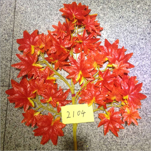 Red Maple Leaf Artificial Tree Leaves