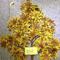 Artificial Golden Maple Tree Leaves