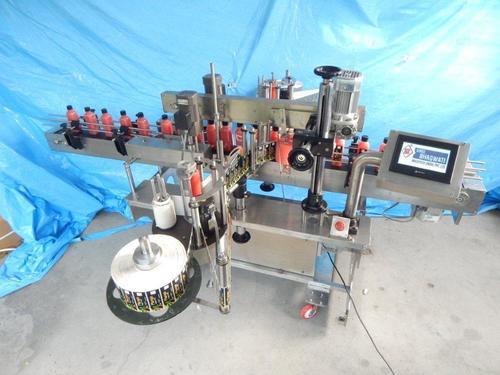 Automatic Flat Bottle Labeling Machine