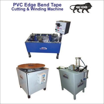 PVC Edge Bend Tape Cutting & Winding Machine