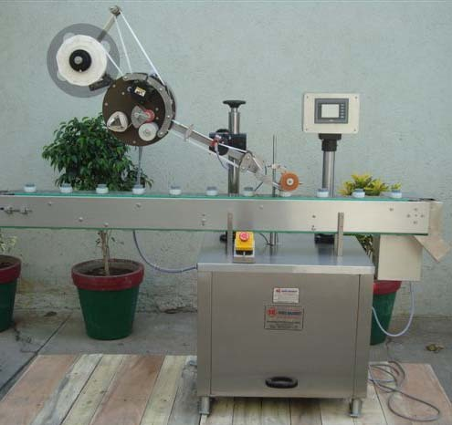 Automatic Pallet Labelling Machine