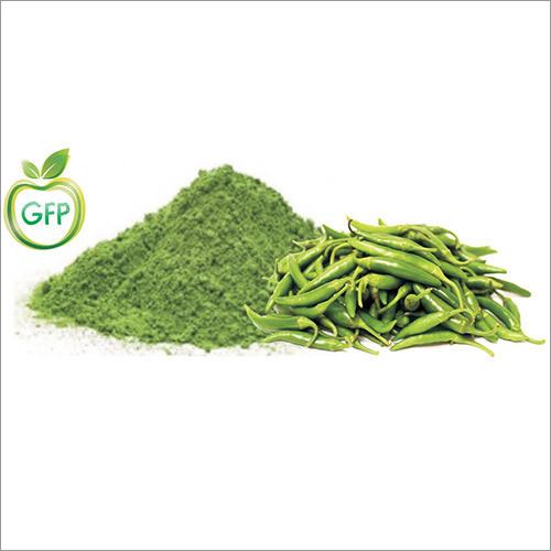 Spray Dried Green Chilli Powder