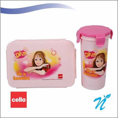 Cello Angel Series Duo GiftSet Pink