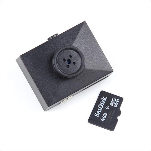 Hidden Spy Button Camera