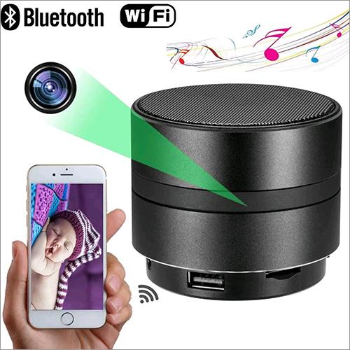 1080P WIFI Spy Camera Bluetooth Speaker