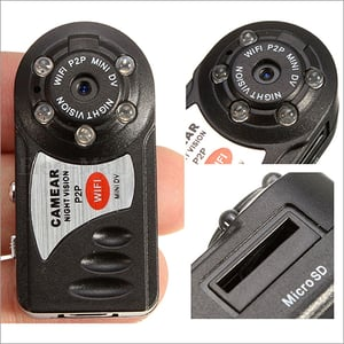 Wifi Mini Wireless Video Recorder IP Camera