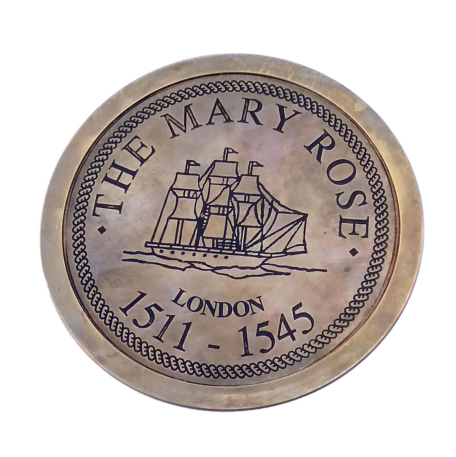 Brass Compass