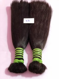 Double Drawn Female Human Hair