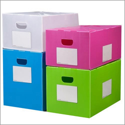Multi Color Corrugated Box