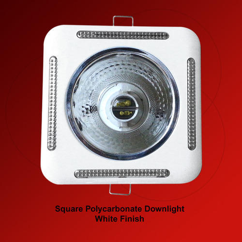 Polycarbonate Downlights Square