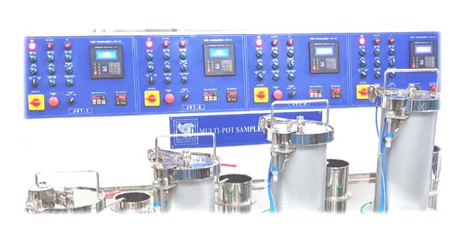 Mix Multi Pot Sample Dyeing Machine