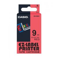 9mm Black on Red Casio Tape(G32)