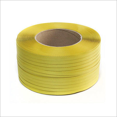 Yellow Colored Strapping Roll