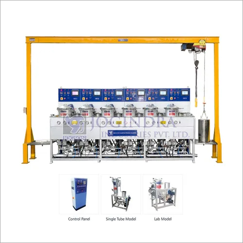 Multi Pot Sample Dyeing Machine