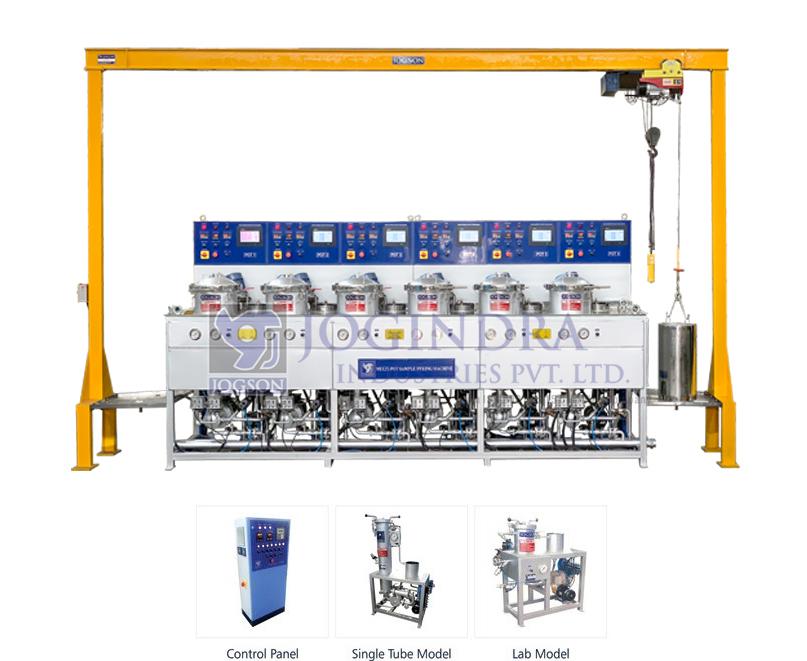 Multi Pot Sample Dyeing Machine