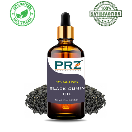 PRZ Black Cumin Seed (Kalonji Oil) Cold Pressed Carrier Oil