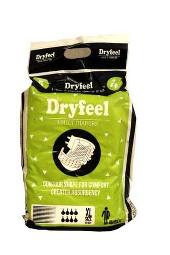 DRYFEEL ADULT DIAPER PACK OF 5