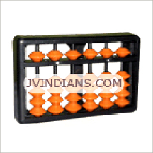 6 Rod Single Colour Abacus