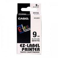 9mm Black on White Casio Tape(G14)