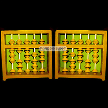 5 Rod Display Abacus