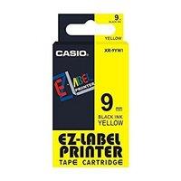 9mm Black on Yellow Casio Tape( G09)