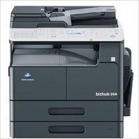 Konica minolta Bizhub 266 Photocopier machine with Document Feeder + Paper Feeder+ Fax Kit (FK510)