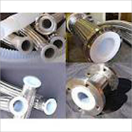 PTFE Lined Stainless Steel Pipe