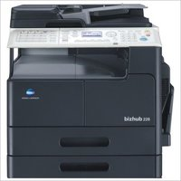 Konica Minolta Bizhub 226 Photocopier machine with Document feeder +Paper feeder+Network card+Control panel