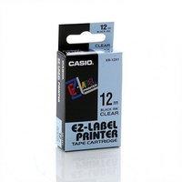 12mm Black on Clear Casio Tape(CG86)