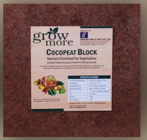 Nutrient Enriched-Cocopeat For Vegetables