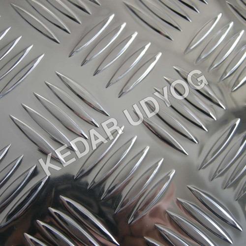 Aluminiumm Chequered Sheet