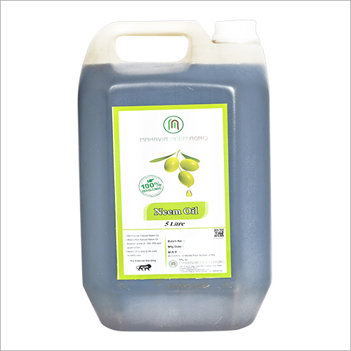 5 Litre Natural Neem Oil