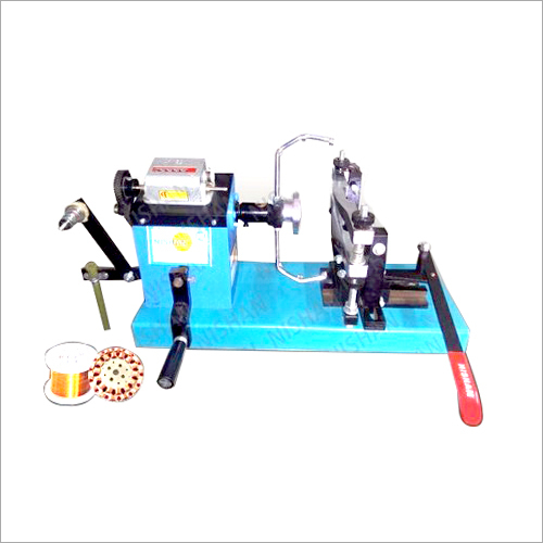 Hand Operating Fan Stator Coil Winding Machine