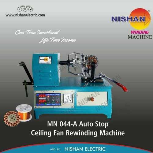 FAN REWINDING MACHINE