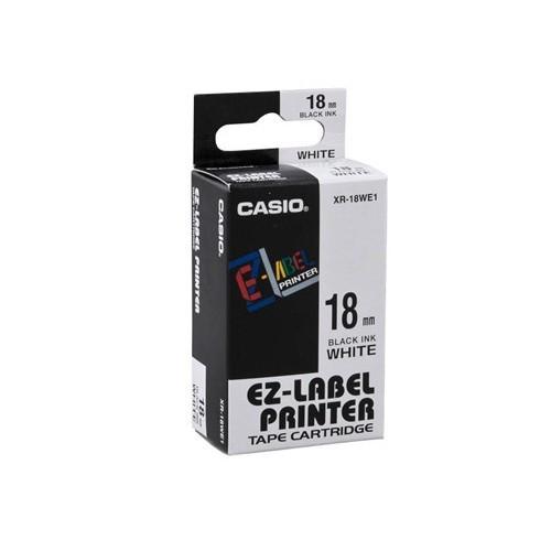 18mm Black on White Casio Tape(G10)