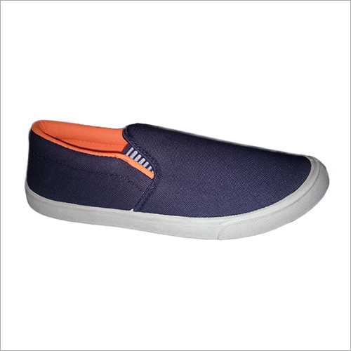 Mens Canvas Loafer Shoes