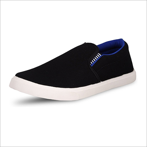 Mens Fancy Canvas Loafer Shoes