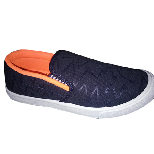 Mens Designer Canvas Loafer Shoes