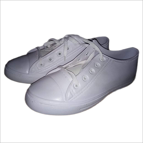 Mens White Seanker Shoes
