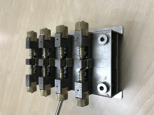 DC Analog Meter Coil Fixing Zig