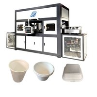 Bagasse pulp cup making machine