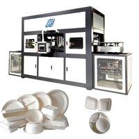 Take away food box making machine