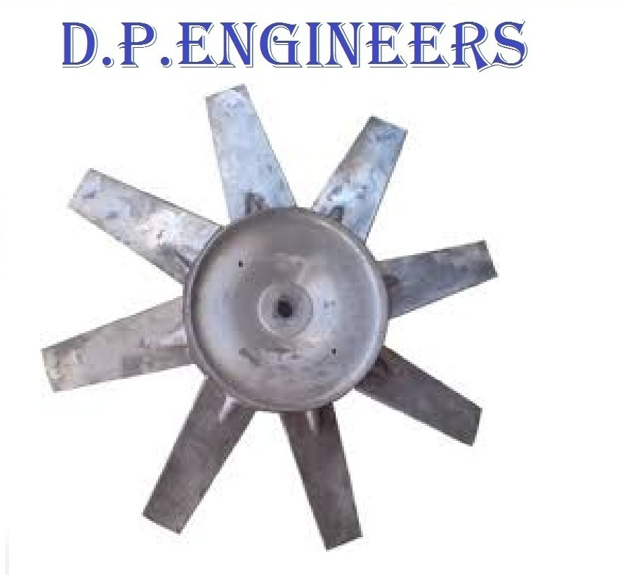 Aluminium Impeller 6 Blade Dia 315 MM