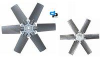 Aluminium Impeller 6 Blade Dia 500 MM