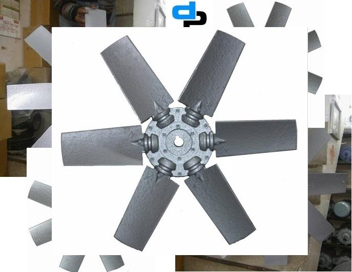 Aluminium Impeller 6 Blade Dia 1250 MM
