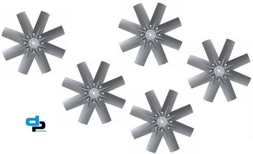 Aluminium Impeller 6 Blade Dia 1400 MM