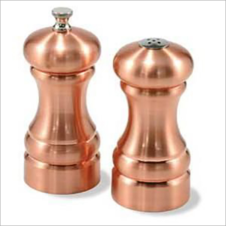 Copper Salt & Pepper Shaker