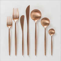 Copper Spoon and Forks